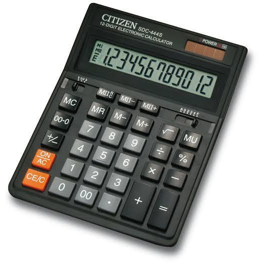 Calculatrice Citizen SDC-444S 12 Digits