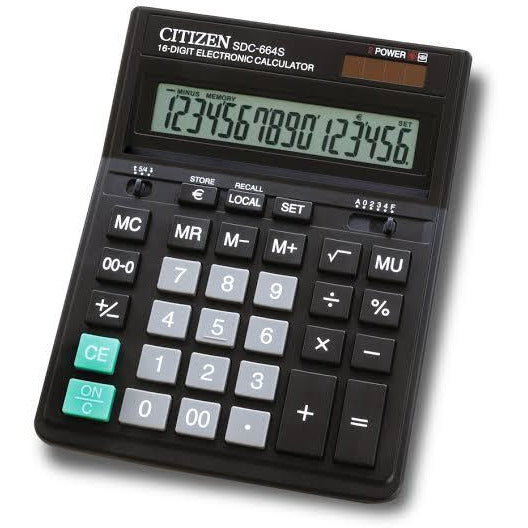 Calculatrice Citizen SDC-6645 16 Digit