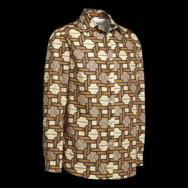 Chemise Africaine AFFASO Chain of Strength Cream