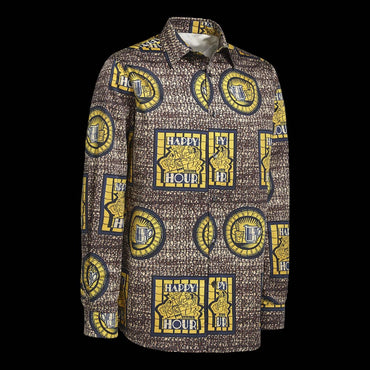 Chemise Africaine AFFASO Happy Hour