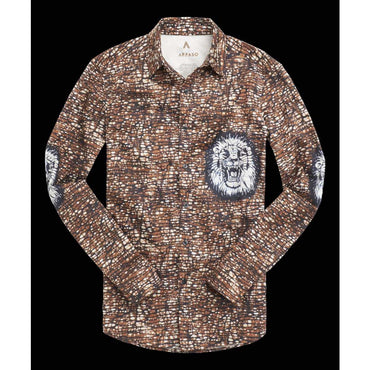 Chemise Africaine AFFASO Jungle King