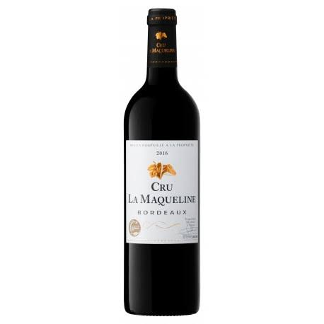 Vin Rouge Crus de la Macqueline Bordeaux 75 cl