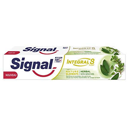 Dentifrice Signal Integral 8 Nature Elements Herbal 100 ml