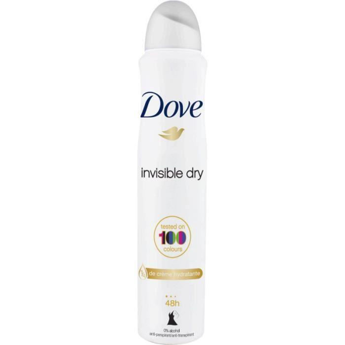 Déodorant Dove Spray Invisible Dry 200 ml - AfriMarket