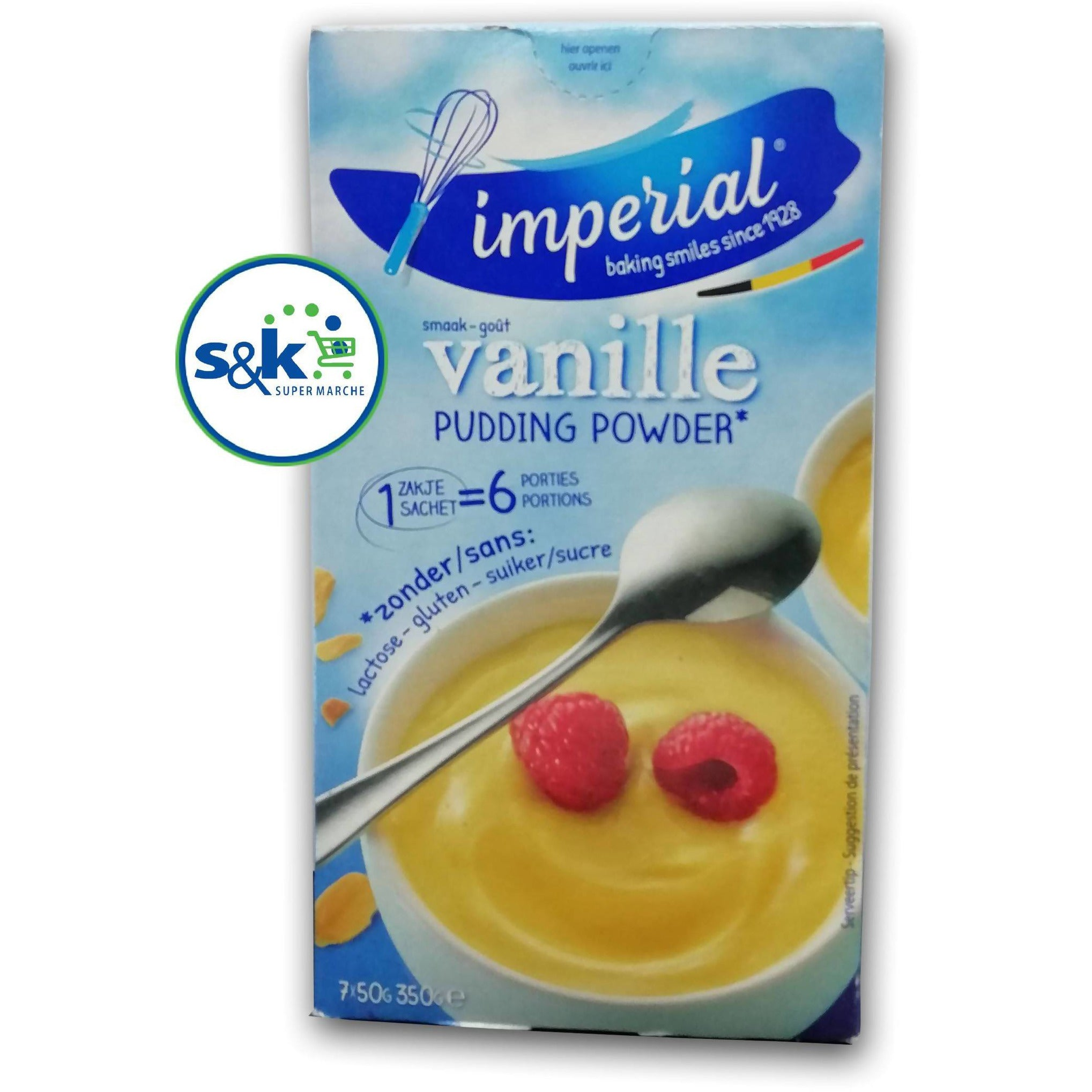 PUDDING IMPERIAL VANILLE 350GM