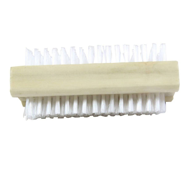 Shoe Brush White Bristle Addis Wood 60870 500g - AfriMarket