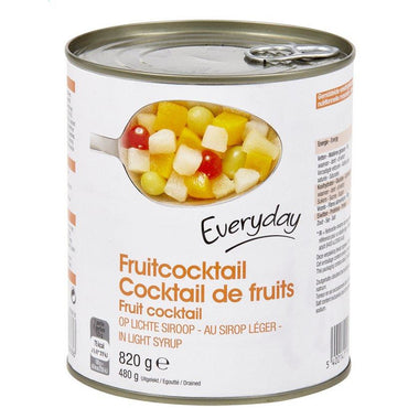 Cocktails de Fruits  Eveyday  Au Sirop Léger 820 g