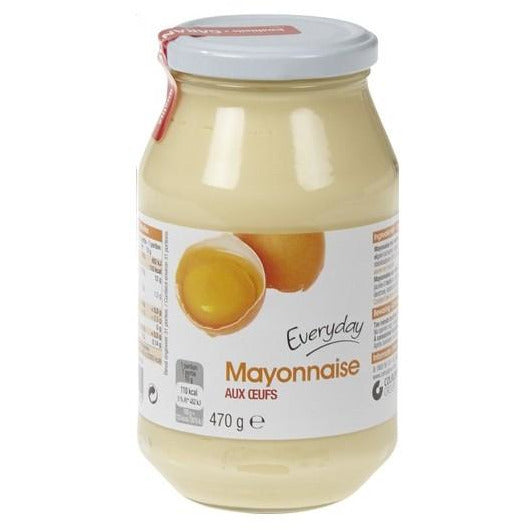 Mayonnaise Everyday aux Oeufs 470 g