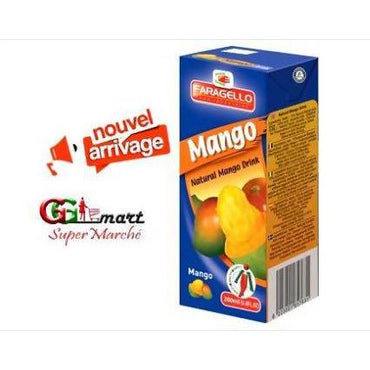 200ML JUICE FARAGELLO MANGO TETRA PACK - AfriMarket