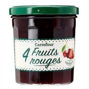 CARREFOUR CONFITURE 4FRUITS ROUGE 370G - AfriMarket