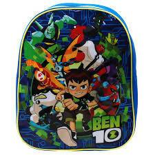 BACKPACK S18 TODDLER BEN 10 27CM - AfriMarket