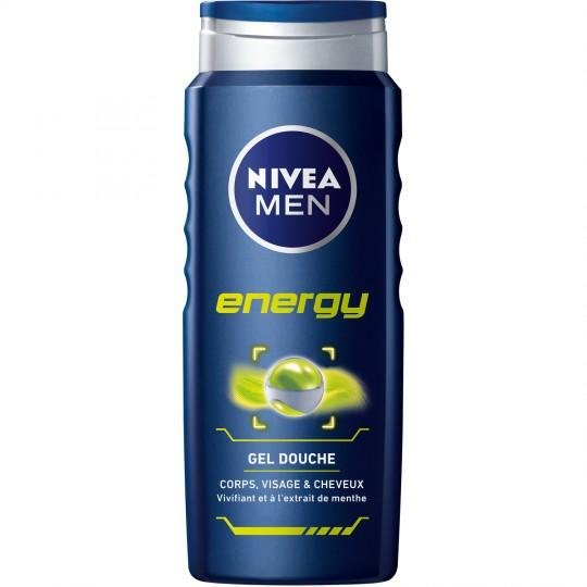 Gel Douche Nivea Men Energy 500 ml - AfriMarket