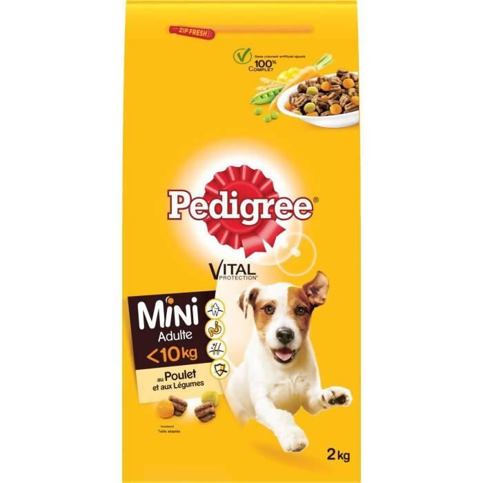 Dog food Breed Pedigree 2Kg