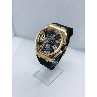 Montre  Audemars Piguet Royal Oak Tourbillon Chronographe Squelette