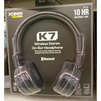 HEADPHONES BT FOLD K7 XCEED PULSE BLK/GRE - AfriMarket