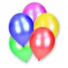 Balloons round colored 12 pce - AfriMarket