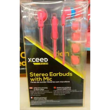 EARPHONE IN EAR XCEED PULSE PNK - AfriMarket