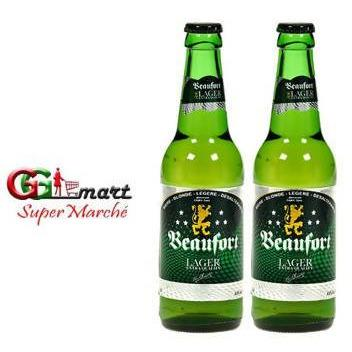 2PCS X 33CL 5% BEER BEAUFORT LAGER - AfriMarket