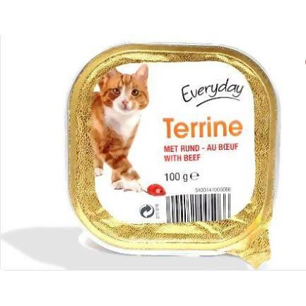EVERYDAY TERRINE POUR CHAT (AU BOEUF) 100gm - AfriMarket