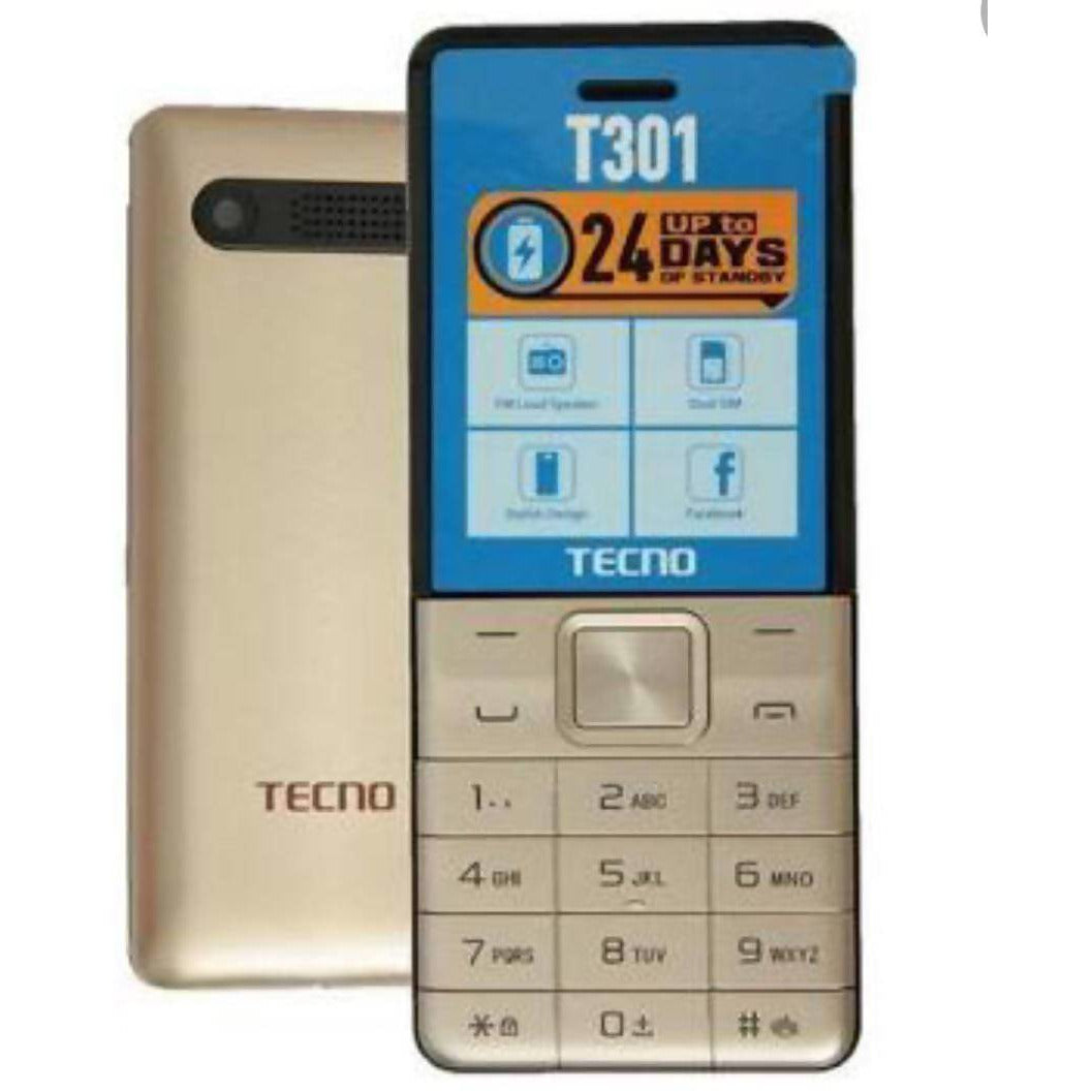 Techno double sim T301