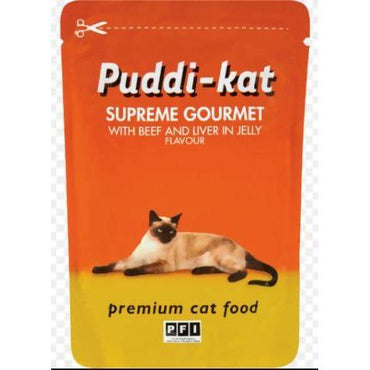 Cat Food mixed grill puddi-kat 85g - AfriMarket