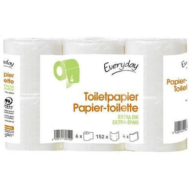Papier-Toilette Everyday 6 Rouleaux