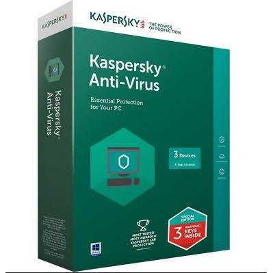 ANTIVIRUS KASPERSKY 2018 (3+1 USER) GENUINE FRENCH DVD - AfriMarket