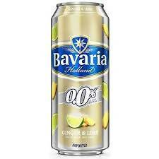 BEER GINGER LIME BAVARIA 500ML CAN - AfriMarket