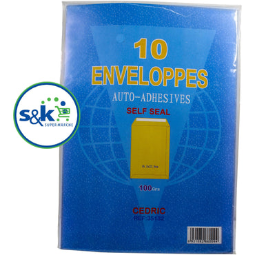 ENVELOPE KHAKHI A5 10PC 16.2X22.9CM (SF8)