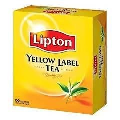 Tea bags Yellow Label Lipton 100s Pack 250g - AfriMarket