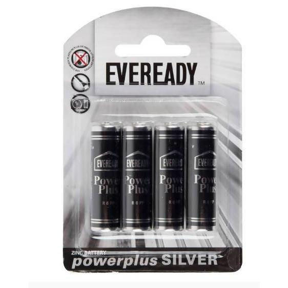 BATTERIES SILVER AA EVEREDAY 4PK - AfriMarket
