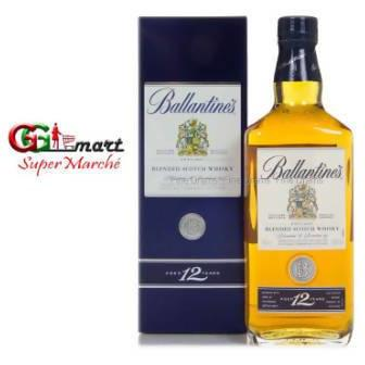 75CL WHISKY BALLANTINES 12 YEARS BLENDED SCOTCH - AfriMarket