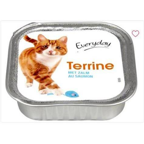 EVERYDAY TERRINE POUR CHAT (AU SAUMON) 100gm - AfriMarket