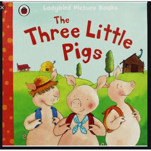 READING BOOK THE THREE LITTLE PIGS - AfriMarket