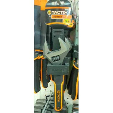 WRENCH ADJUSTABLE TACTIX 200MM - AfriMarket