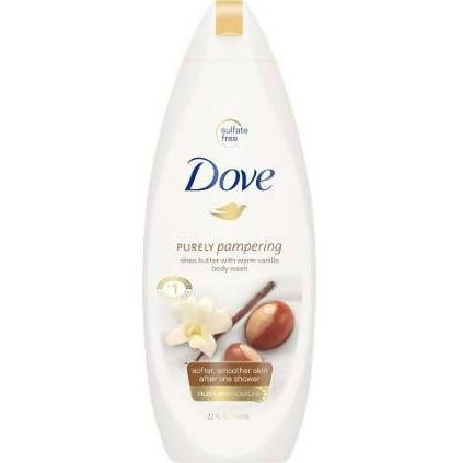 BODY WASH SHEA BUTTER DOVE 250ML PACK - AfriMarket