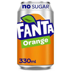 Fanta orange zero 33cl