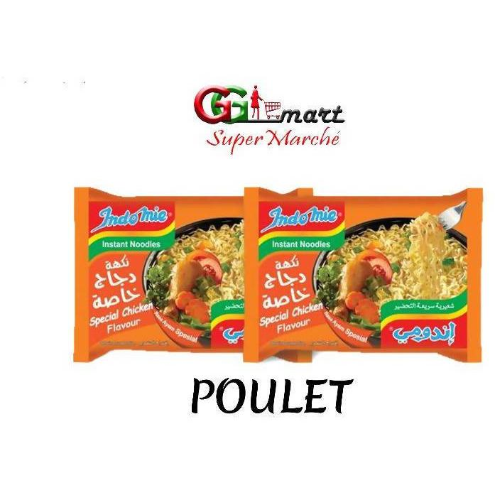 2PC INDOMIE NOODLES SPECIAL CHICKEN 80G - AfriMarket