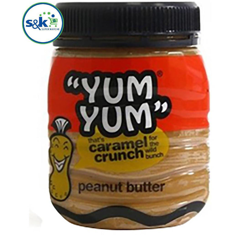 PATE YUM YUM CARAMEL CRUNCH 400GM
