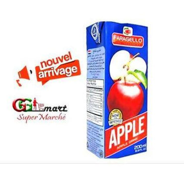 200ML JUICE FARAGELLO APPLE TETRA PACK - AfriMarket