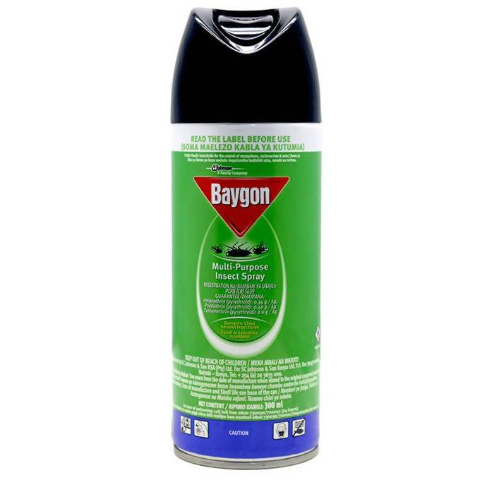 Insecticide Multi Purpose Baygon 300ML - AfriMarket