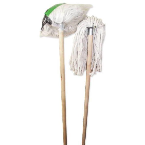 Floor Mop Wooden Handle 54'' - AfriMarket