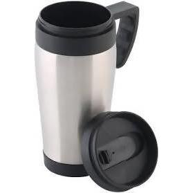 Travel Mug w/Handle s/st Steel Series 470ML - AfriMarket