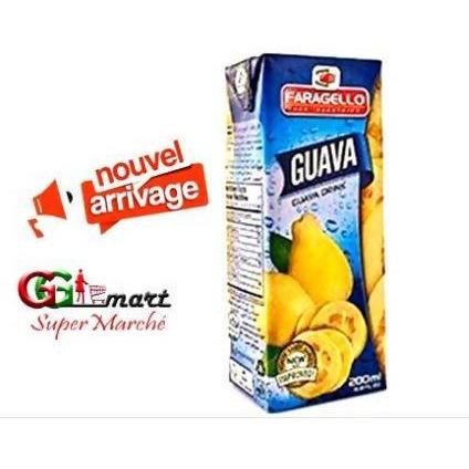 200ML JUICE FARAGELLO GUAVA TETRA PACK - AfriMarket