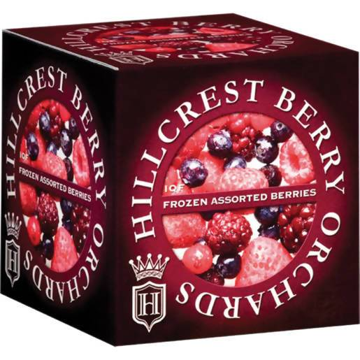 Frozen Berries Black cherries Hillcrest 350g Pack - AfriMarket