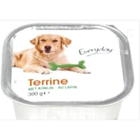 EVERYDAY TERRINE POUR CHIEN (LAPIN) 300gm - AfriMarket