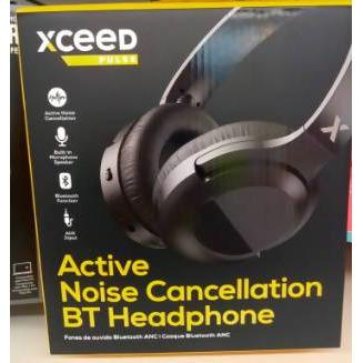 HEADPHONE ANC BT XCEED PULSE BLK - AfriMarket