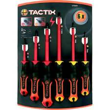 SCREWDRIVER SET TACTIX 10PC - AfriMarket