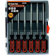 FILE NEEDLE TACTIX 6PC - AfriMarket