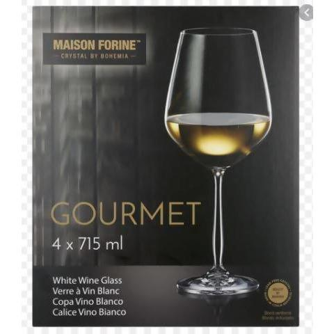 Glass wine Gourrmet 4Pcs - AfriMarket